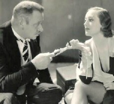 With Wallace Beery in 1932's 'Grand Hotel.'