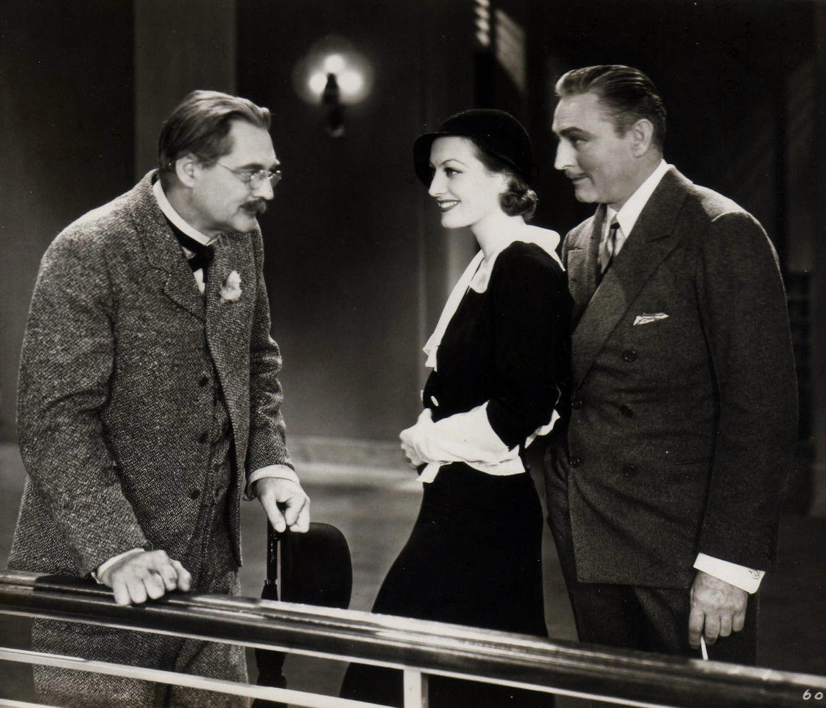 1932. 'Grand Hotel.' With Lionel and John Barrymore.