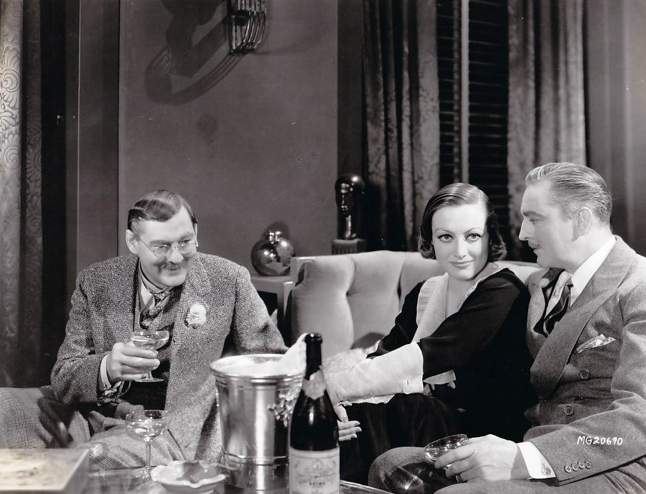 1932. 'Grand Hotel.' With Lionel (left) and John Barrymore.