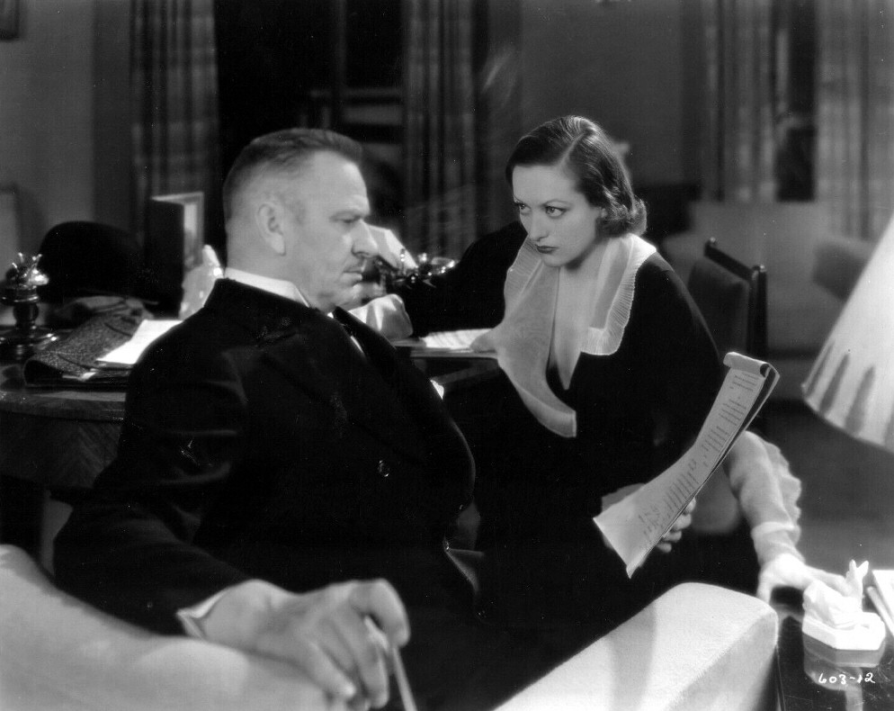 1932. 'Grand Hotel' film still with Wallace Beery.