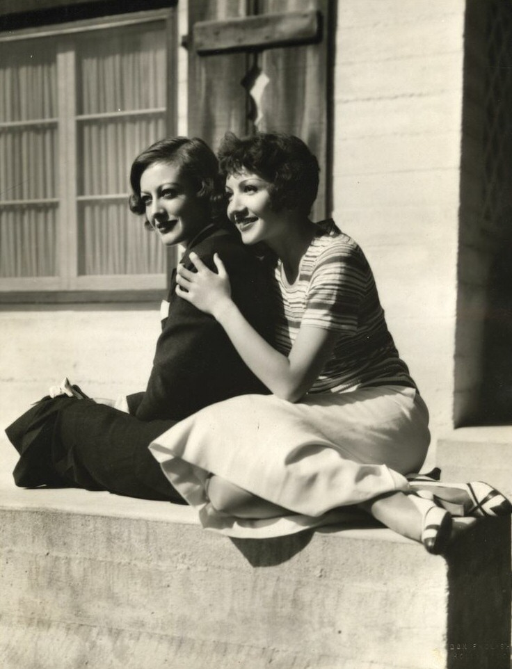 1932 with Claudette Colbert. Shot by Don English.