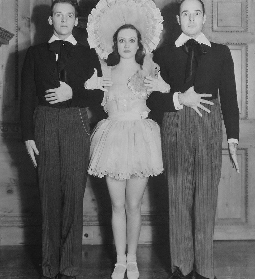1932. At Marion Davies' 'Kiddie Party' with Doug Jr. and William Haines.