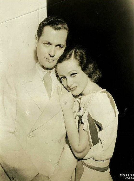 1932. 'Letty Lynton.' With Robert Montgomery.