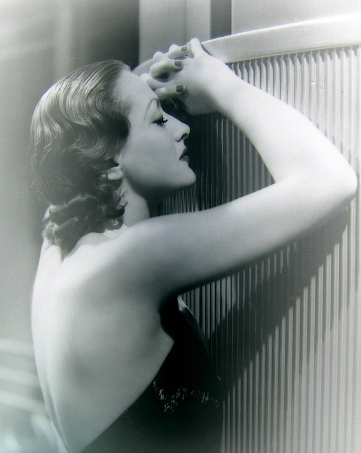 1932. Publicity for 'Letty Lynton.'