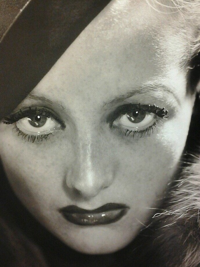 1932 publicity for 'Letty Lynton' by Hurrell.