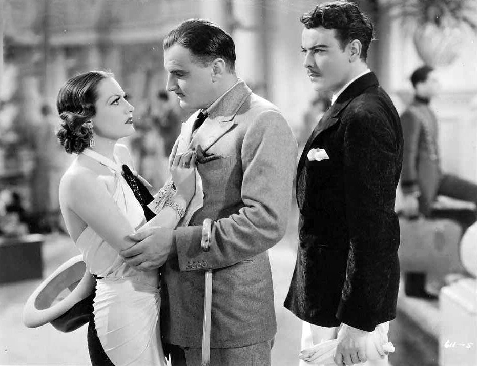 1932. 'Letty Lynton.' With Nils Asther, right.