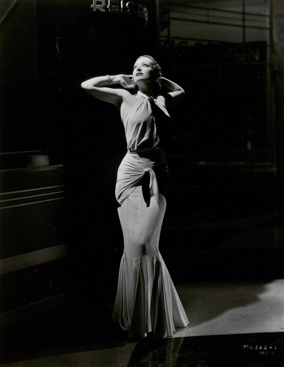 1932. Publicity for 'Letty Lynton' shot by Hurrell.