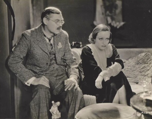 1932. 'Grand Hotel.' With Lionel Barrymore.