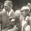 With Doug Fairbanks, Jr., in London. July 1932.