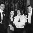 November 1932. With Gable, Shearer, and husband Doug Jr. at the Mayfair Club at LA's Biltomore Hotel. (Thanks to Mike O.)