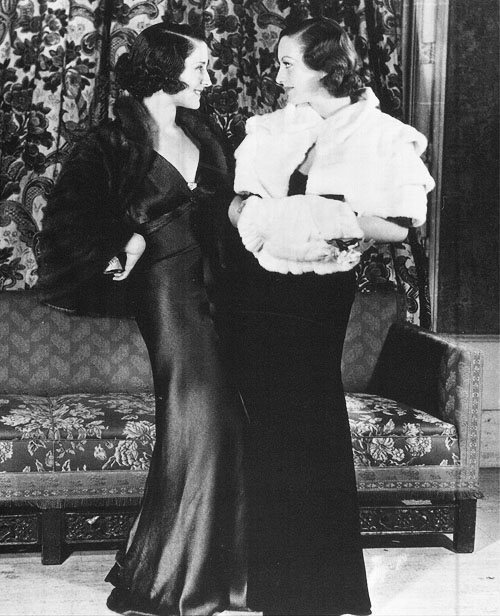 November 5, 1932, at the Mayfair Club with Norma Shearer.