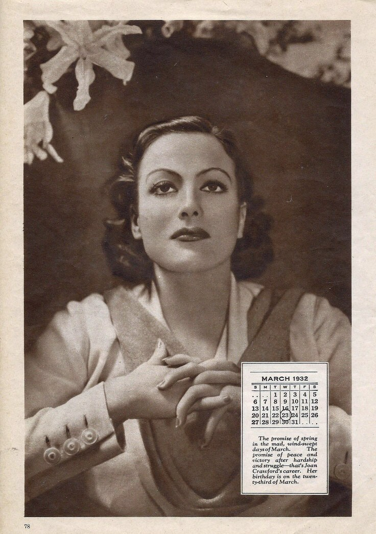 1932 publicity. Page from unknown magazine.