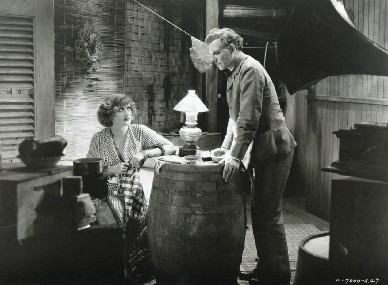 1932. 'Rain.' With Walter Huston.
