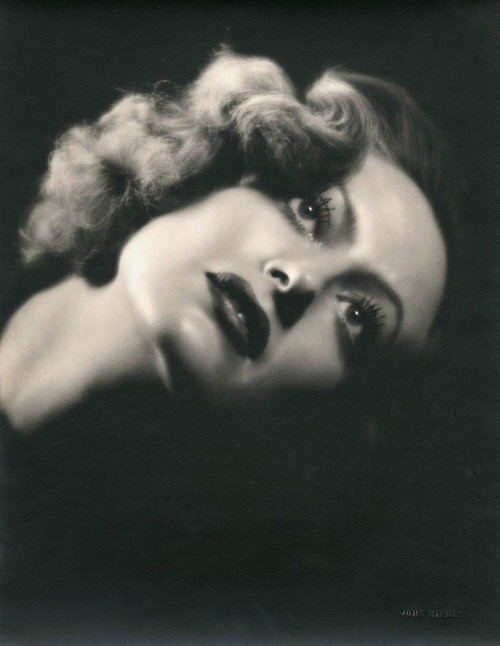 1932. Publicity for 'Rain' shot by John Miehle.