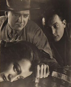 1932. Publicity from 'Rain' with William Gargan and director Lewis Milestone.