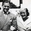 July 14, 1932, arriving in Southampton with husband Doug Fairbanks, Jr.