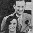 August 1932. With husband Doug Fairbanks, Jr., back in NYC after their European trip.