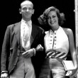 With Fred Astaire.