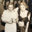 1932. With Constance Bennett at LA's Biltmore Hotel.