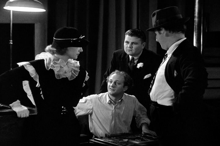 1933. 'Dancing Lady.' With Ted Healy (right) and a Stooge.