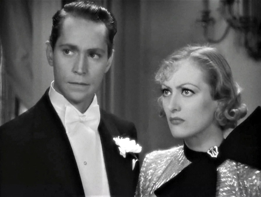 1933. 'Dancing Lady' screen shot with Franchot Tone.