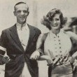 1933. On the set of 'Dancing Lady' with Fred Astaire.