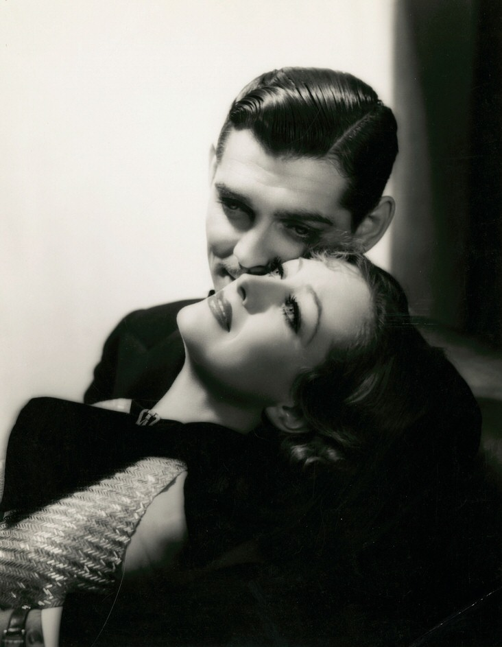 1933. 'Dancing Lady,' with Clark Gable.