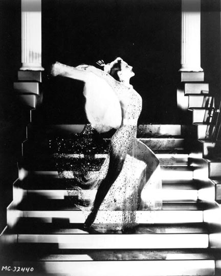 1933. 'Dancing Lady' publicity shot by Hurrell.