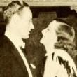 November 1932, with Leslie Howard at the LA Biltmore Hotel.