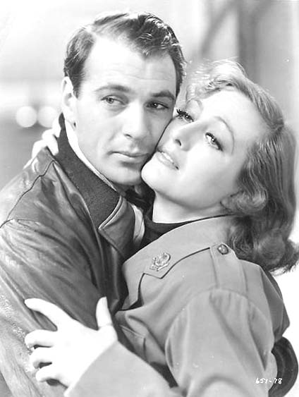 With Gary Cooper.