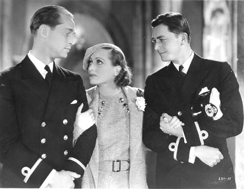 With Franchot Tone and Robert Young.