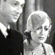 1933. A screen shot from 'Today We Live.' With Franchot Tone, left, and Robert Young.