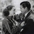 1934. 'Forsaking All Others' publicity. With Clark Gable.