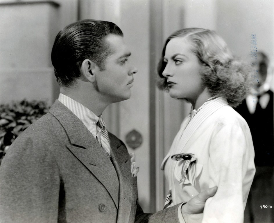 1934. 'Forsaking All Others' with Clark Gable.