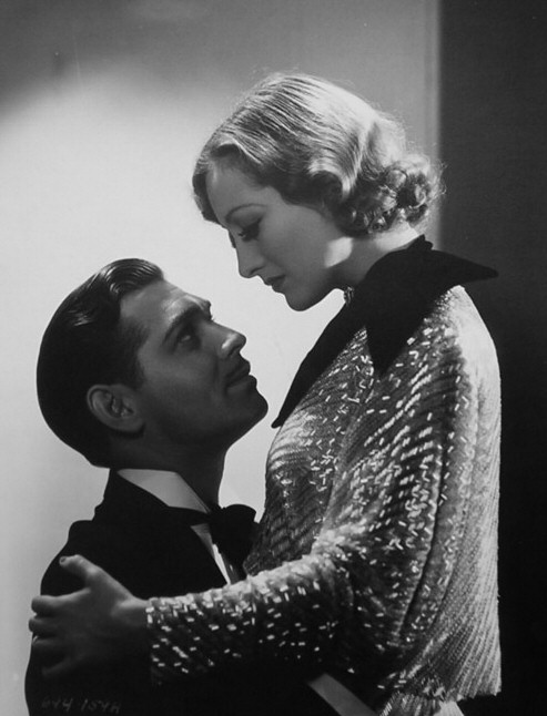 1933 publicity for 'Dancing Lady' with Clark Gable.