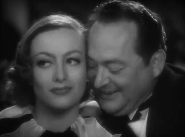 1934. 'Sadie McKee' screen shot with Edward Arnold.