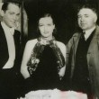 With Franchot Tone and director Clarence Brown.