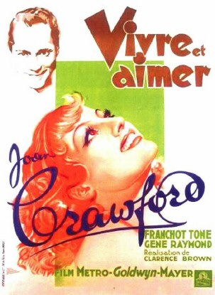 French movie poster. (Art by Rene Poissonie.)