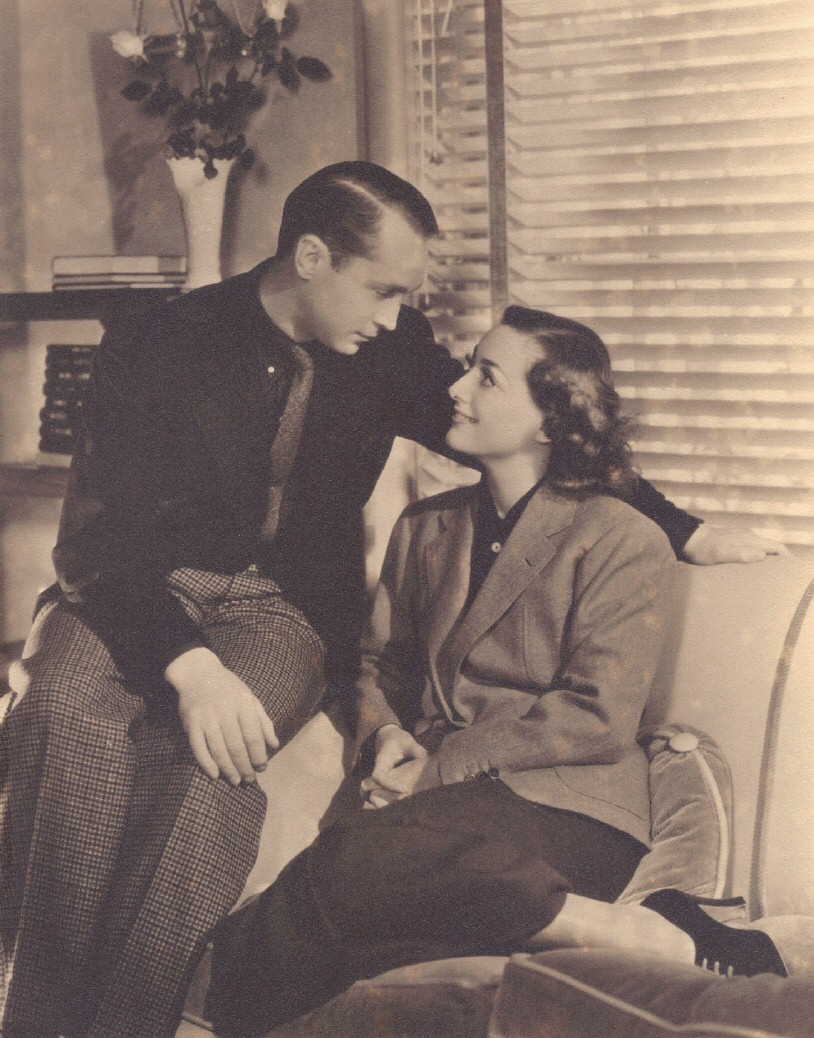 1936. At home with Joan and Franchot, shot by Hurrell.