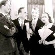 1935. 'I Live My Life.' With Brian Aherne, Frank Morgan, and unknown.