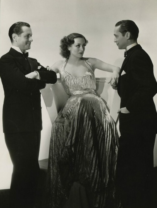 1935. 'No More Ladies.' With Robert Montgomery and Franchot Tone.
