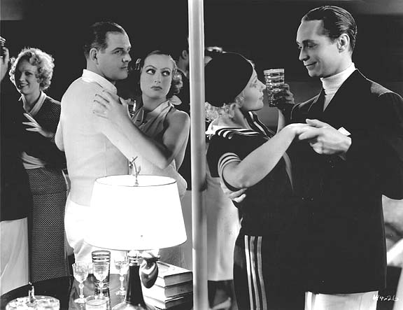 1933. 'Dancing Lady.' Franchot Tone at right.