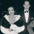 1935 at the Waldorf with Franchot Tone.