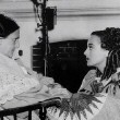 On the set with co-star Beulah Bondi.