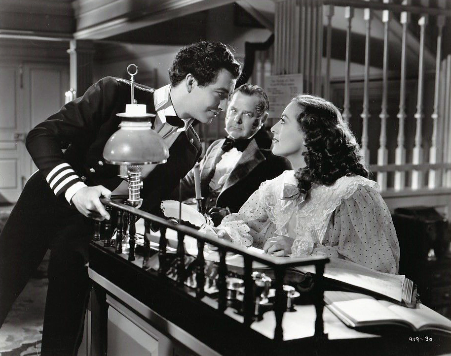 1936. 'The Gorgeous Hussy.' With Robert Taylor, left.