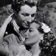 1936. With Robert Taylor in 'Gorgeous Hussy.'