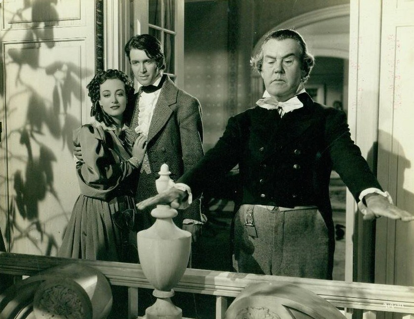1936. 'The Gorgeous Hussy.' With James Stewart.
