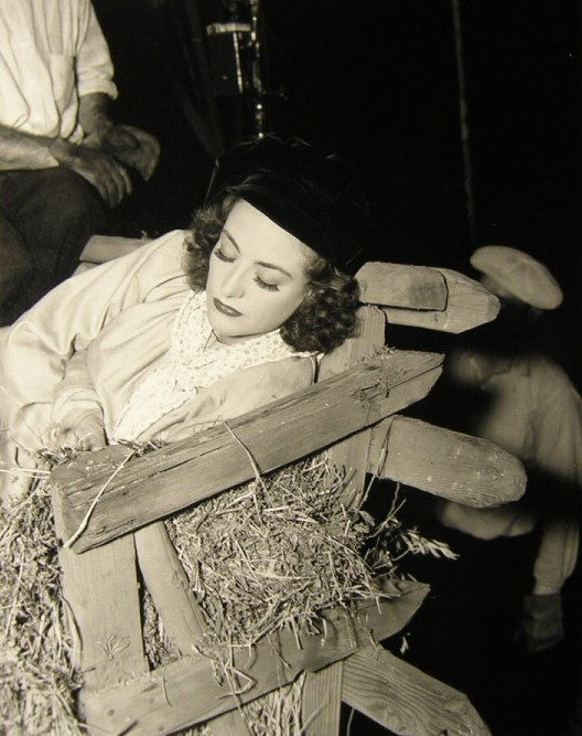 1936. On the set of 'Love on the Run.'