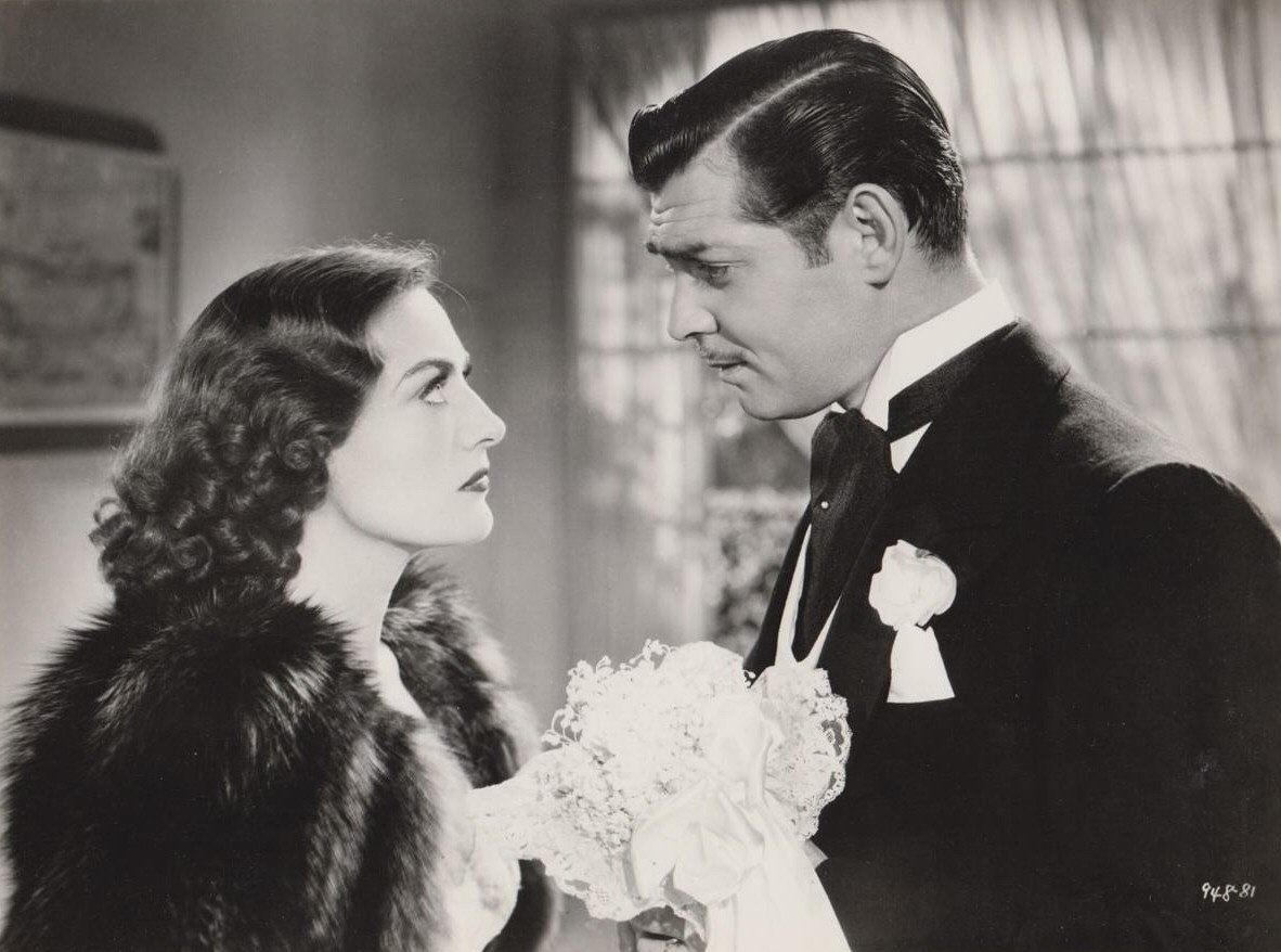 1936. 'Love on the Run.' With Clark Gable.