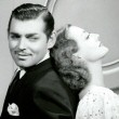 1936. 'Love on the Run' publicity with Clark Gable.